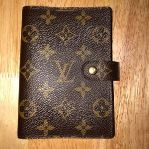 Louis Vuitton Monogram PM Agenda